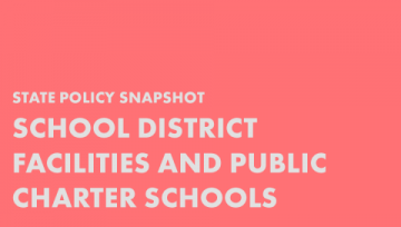 School District Facilities and Public Charter Schools